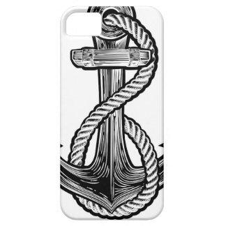 Anchor Vintage Style Tattoo Illustration iPhone SE/5/5s Case