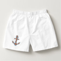 Anchor with Chain Boxers
