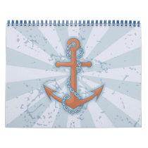 Anchor with Chain Calendar