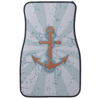 Anchor with Chain Car Floor Mat