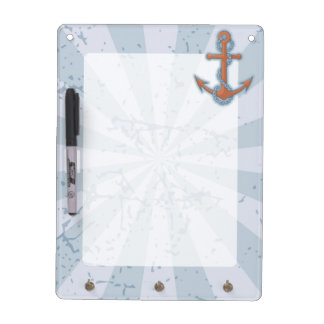 Anchor with Chain Dry-Erase Board