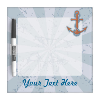Anchor with Chain Dry Erase Board