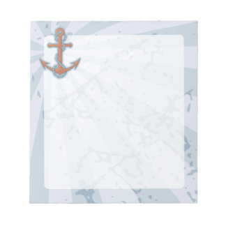 Anchor with Chain Notepad