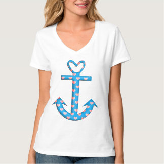 Anchor with Hearts T-shirt