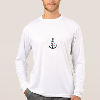 Anchor with lifebelt t shirt