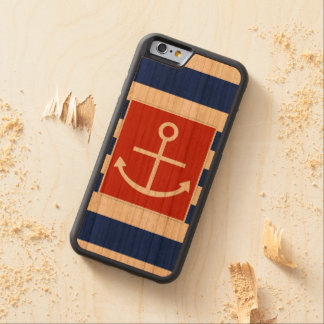 Anchor Carved® Cherry iPhone 6 Bumper Case