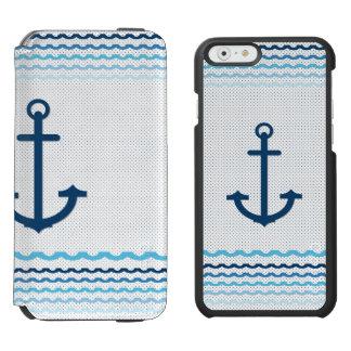 Anchor Yach Boat Marine Sail Sailing iPhone 6/6s Wallet Case