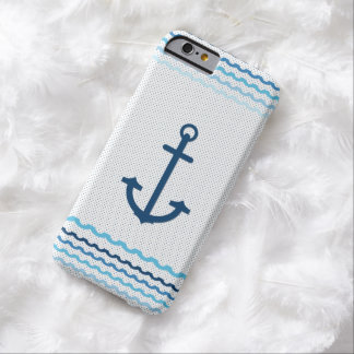 Anchor Yacht Boat Nautical Marine Sail Barely There iPhone 6 Case