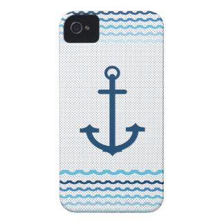 Anchor Yacht Boat Nautical Marine Sail Car Mats Case-Mate iPhone 4 Case
