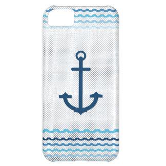 Anchor Yacht Boat Nautical Marine Sail Car Mats iPhone 5C Cases