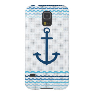 Anchor Yacht Boat Nautical Marine Sail  Car Mats Case For Galaxy S5