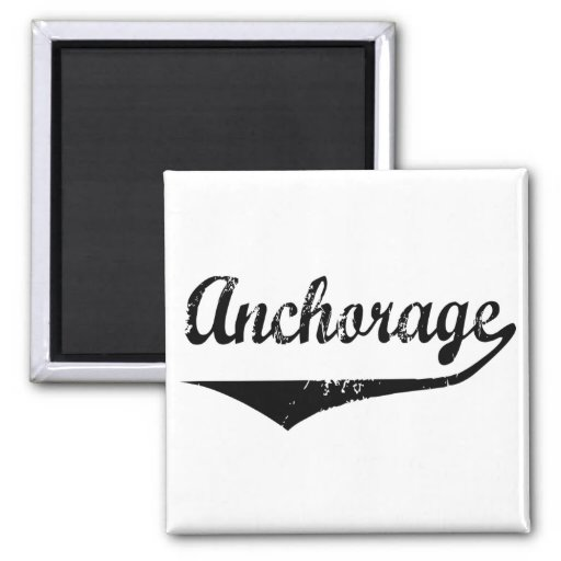 Anchorage 2 Inch Square Magnet