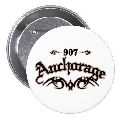 Anchorage 907 3 inch round button