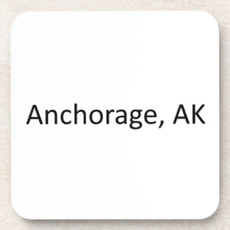 Anchorage, AK Beverage Coaster