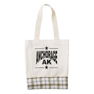 Anchorage AK Zazzle HEART Tote Bag