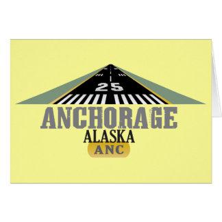 Anchorage Alaska - Airport Runway Cards