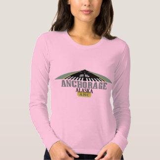 Anchorage Alaska - Airport Runway T Shirt