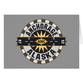 Anchorage Alaska ANC Airport Card