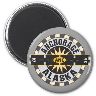Anchorage Alaska ANC Airport Refrigerator Magnets