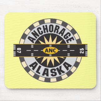 Anchorage Alaska ANC Airport Mouse Pad