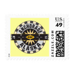 Anchorage Alaska ANC Airport Postage Stamp