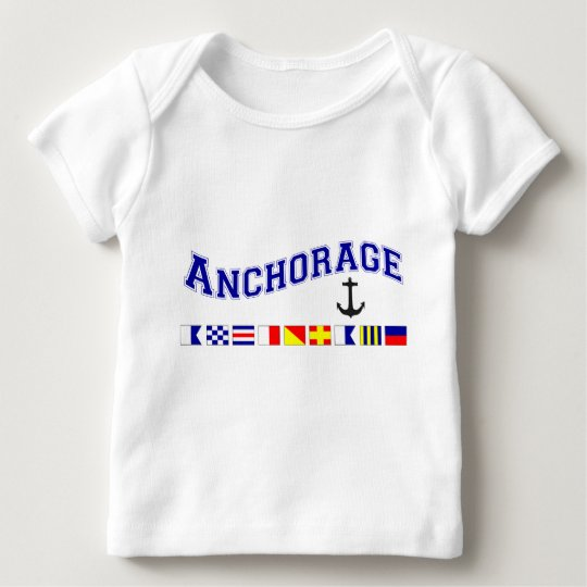 Anchorage, Alaska Baby T-Shirt