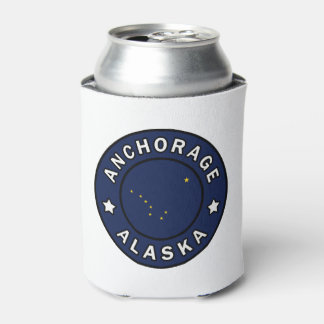 Anchorage Alaska Can Cooler