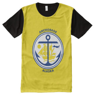 Anchorage Alaska flag Shirt