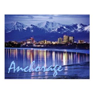 Anchorage, Alaska, los E.E.U.U. Postales