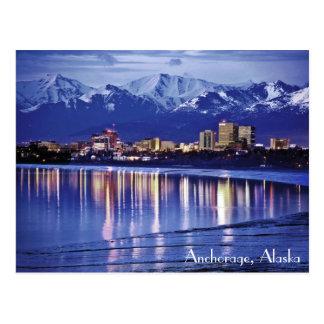 Anchorage, Alaska, los E.E.U.U. Tarjeta Postal