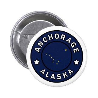 Anchorage Alaska Pinback Button