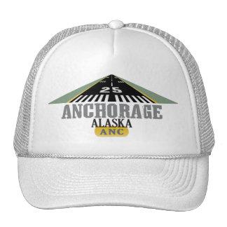 Anchorage Alaska - pista del aeropuerto Gorro De Camionero