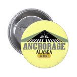Anchorage Alaska - pista del aeropuerto Pins