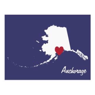 Anchorage Alaska Post Card