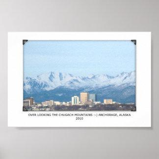 Anchorage, Alaska Poster