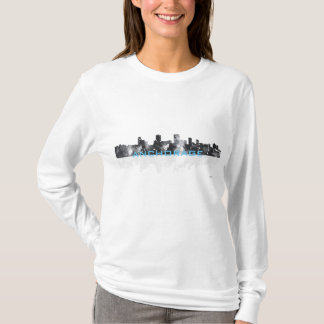 ANCHORAGE, ALASKA SKYLINE - Long sleeve nano shirt