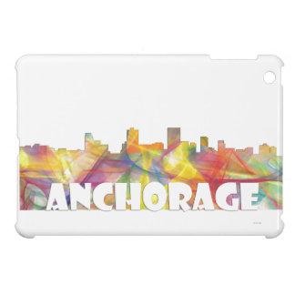 ANCHORAGE, ALASKA SKYLINE MCLR2 - ipad Mini Case