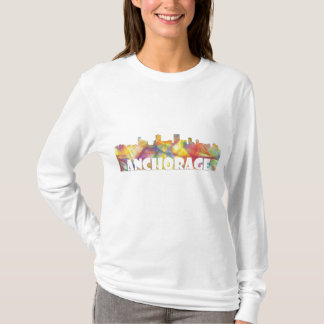 ANCHORAGE, ALASKA SKYLINE MCLR2 - T-shirts