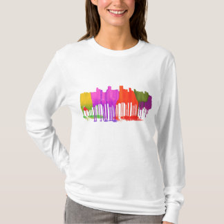 ANCHORAGE, ALASKA SKYLINE PUDDLES - T-Shirt