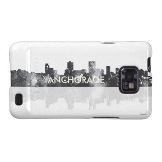 ANCHORAGE, ALASKA SKYLINE - Samsung Galaxy S2 Case