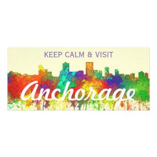 Anchorage Alaska Skyline-SG Rack Card