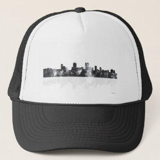 ANCHORAGE, ALASKA SKYLINE - Truckers hat