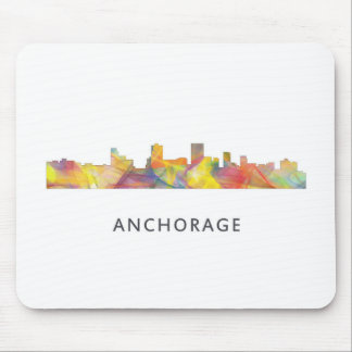 ANCHORAGE, ALASKA SKYLINE WB1 - MOUSE PAD