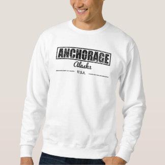 Anchorage Alaska Sudaderas Encapuchadas