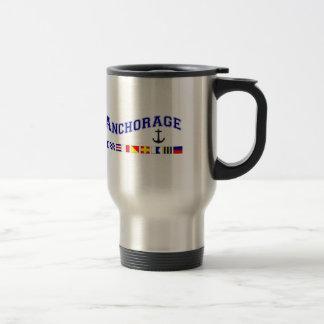 Anchorage, Alaska Travel Mug