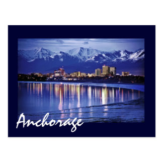 Anchorage, Alaska, U.S.A. Postcard