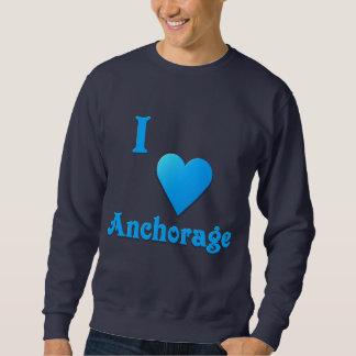 Anchorage -- Azul de cielo Suéter