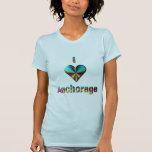 Anchorage -- Blue Green & Burgundy Shirts