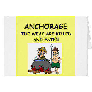 ANCHORAGE GREETING CARD