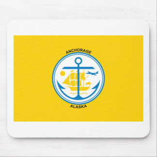 Anchorage Flag T-Shirts Mouse Pads